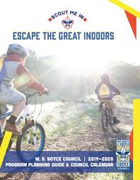 Guide To Safe Scouting Chart A Guide To Program Planning