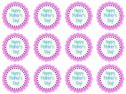 Mothers Day Printable Cupcake Toppers Diy Craft