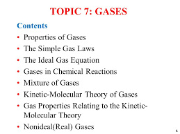 topic gases contents properties of gases the simple gas laws  1 1 topic