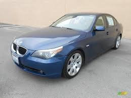2004 Mystic Blue Metallic BMW 5 Series 530i Sedan #79569245 ...