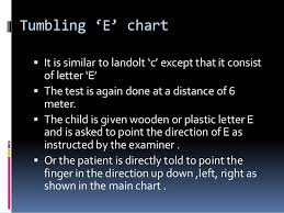 E Chart Test Test Types Used In Optometry