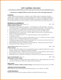 Medical Assistant Student Resume Free Resume Example And Writing