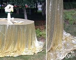 trlyc light gold sequin tablecloth 108 round sequin tablecloth