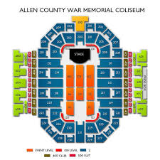 Allen County War Memorial Seating Chart Lauren Daigle Fort Wayne Tickets 6 19 2020 7 30 Pm Vivid