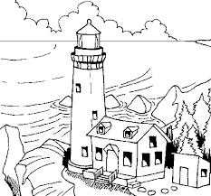 Small Picture Dibujo de Faro 1 para Pintar y Colorear en Lnea coloring pages