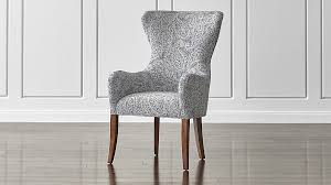 breathtaking wing back dining chair 42