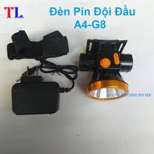 đèn pin - Đèn pin đội đầu A4 chiếu xa siêu sáng- kèm sạc và dây đeo