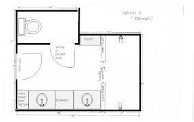 ... Residential Door Width Homey Inspiration 10 Water Closet Size ...
