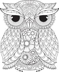 Pin By Shreya Thakur On Free Coloring Pages Owl Coloring Pages
