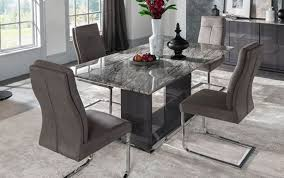 legs gold dining grey natural set gray white rectangle modern and room table astonishing chairs top