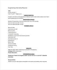Sample Engineering Cv 7 Documents In Pdf Word