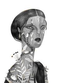 Pencil Girls On Behance Love In 2019 Art Portrait Illustration