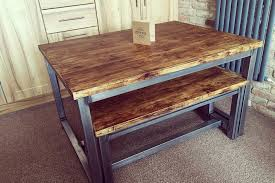 industrial dining furniture. Industrial Dining Table - Crescent Fifty One Furniture