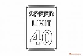 Small Picture Traffic Signs Coloring Pages Free Downloadable Printables