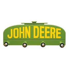 John Deere Coat Rack Genuine Hotrod Hardware John Deere Radiator Coat Racks DR100100 12