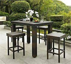 Outdoor Bar Height Table Design U2014 Jbeedesigns Outdoor  Outdoor Outdoor Pub Style Patio Furniture