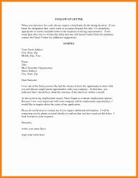 Resume Follow Up Email Sample Resume Cv Cover Letter