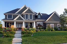 exterior small prairie style house plans