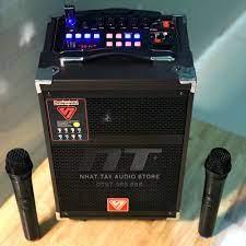 Loa karaoke mini SY 1108   Loa kẹo kéo di động bass 2 tấc cực đẹp