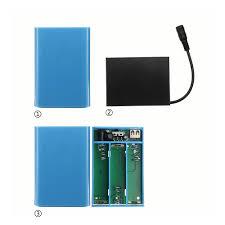 diy 12v battery charger storage case box holder for 3x18650 battery cod