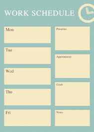Online Shift Schedule Maker Online Work Schedule Planner Template Fotor Design Maker