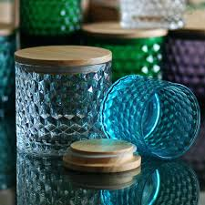 conventional decorative glass jars d5251 colored glass jars with lids colored glass jars with lids colored mason glass jar at rs decorative glass jars with