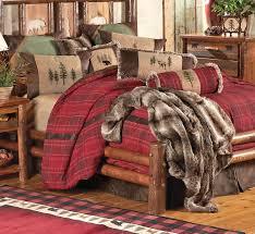 Mountain Cabin Decor Rustic Bedding Cabin Bedding Black Forest Decor