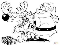 Small Picture rudolph coloring pages reindeer colouring page 2 free coloring