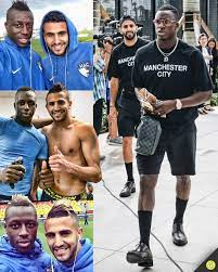 433 - Benjamin Mendy & Riyad Mahrez have been chasing the...