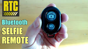 Bluetooth Selfie <b>Remote Control</b> with <b>Camera Shutter</b> Button for ...