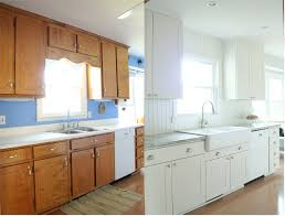 farm kitchen budget remodel before after photos before and
