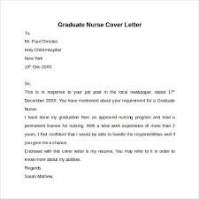 Gallery Of Nursing Cover Letter Template 9 Free Samples Examples