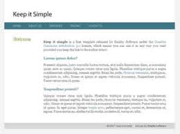 Keep It Simple Free Website Template Free Css Templates