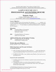 49 Resume Objective Examples Accounting Assistant Resume Letter
