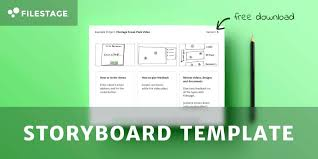 Free Commercial Storyboard Template Word Format Tv Examples