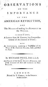 observations on the importance of the american revolution and the  0894 tp