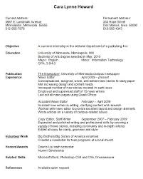 Sample College Student Resume Interesting Resume Examples For College Students Best Of Sample College Student