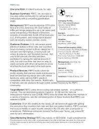 Sample Business Plans Templates Sample Business Plan For Ict Company One Page Executive Summary