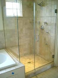 how to install glass shower door replace gasket on tile seal
