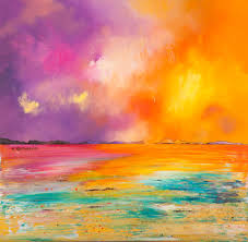 paintings prints summer light over camusdarach beach arisaig near morar scotland