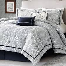 black and white comforter sets handprinting comforter bed set desk