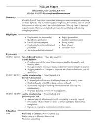 best payroll specialist resume example   livecareerpayroll specialist resume example