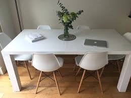 ... White Gloss Dining Table Sets Uk Chairs ...