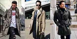 how to pick the trench coat a complete er s guide for mens winter coat collection