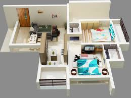 cgarchitect professional 3d architectural visualization user community 3d floor plan 2bhk