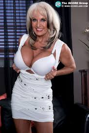 Hige boobed mature sally dangelo
