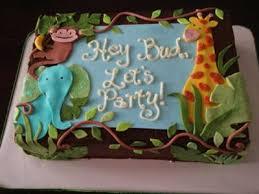 Jungle Safari Babyshower Decoration Ideas  Thank You To Caketopia Baby Shower Safari Cakes