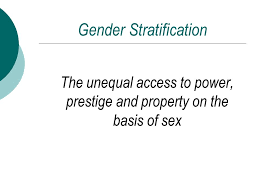 sex and gender chapter henslin s sociology a down to earth  gender stratification