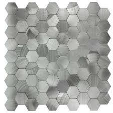 decorative wall tiles silver aluminum hexagon peel and stick decorative decorative ceramic art wall tiles uk on decorative ceramic art wall tiles uk with decorative wall tiles silver aluminum hexagon peel and stick