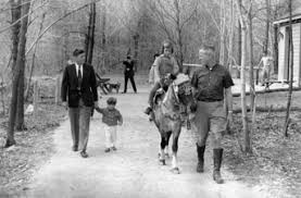 john f kennedy john f kennedy jr and caroline kennedy riding tex